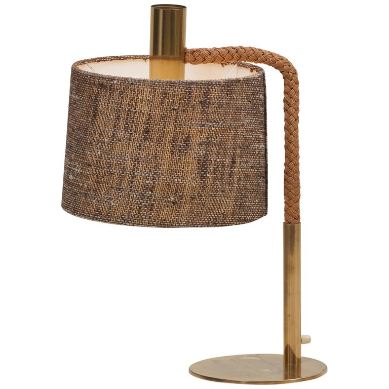 Elegant Fine Minet Rope Table Lamp by Adrien Audoux