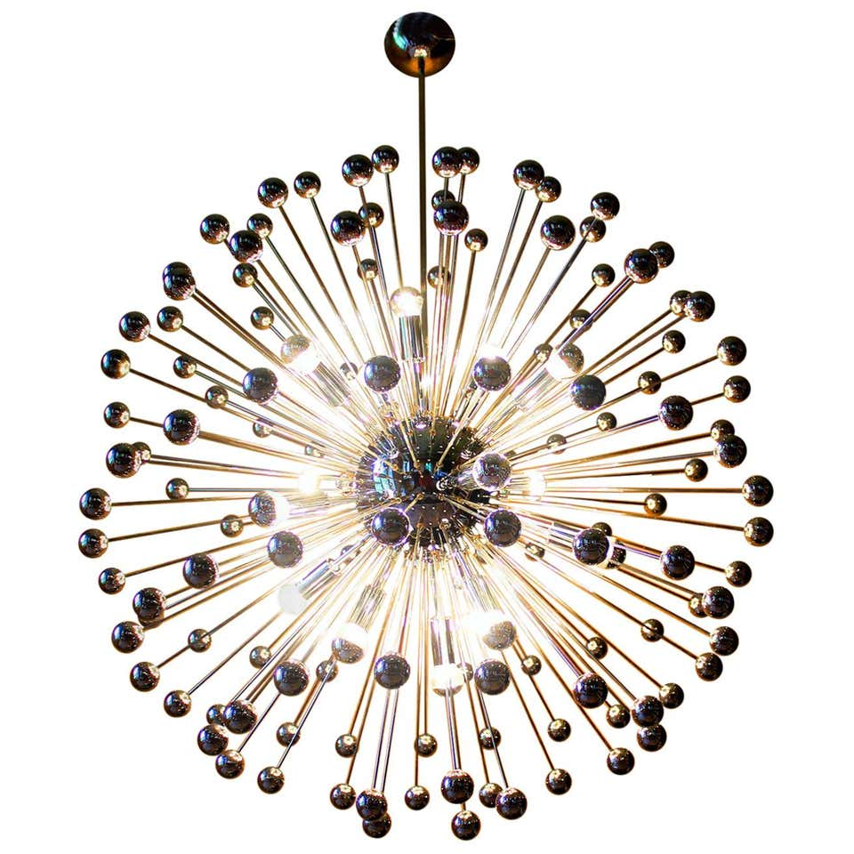 1 of 2 Grand Ballroom Concert Hall Chandelier, Germany, 1970s