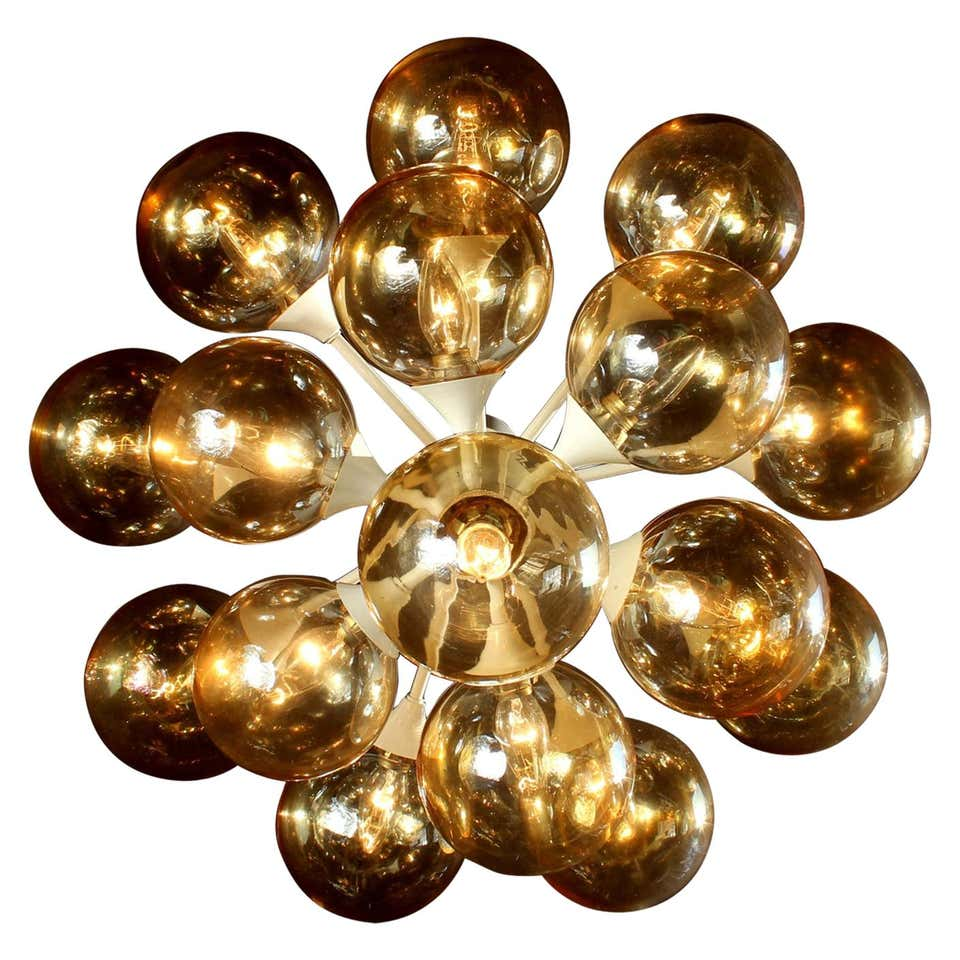 Grand Kaiser Sputnik Organic Chandelier, Germany, 1970s